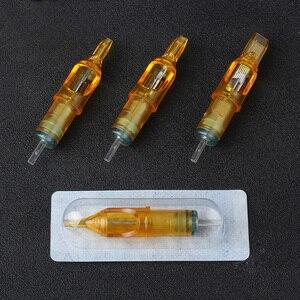 Image 5 - 10PCs הפנוי קעקוע מחסנית מחטי קעקוע איפור 3RL/5RL/7RL/9RL/5M1/7M1/ 9M1/5RS/7RS/9RS עבור Microblading קעקוע מכונת