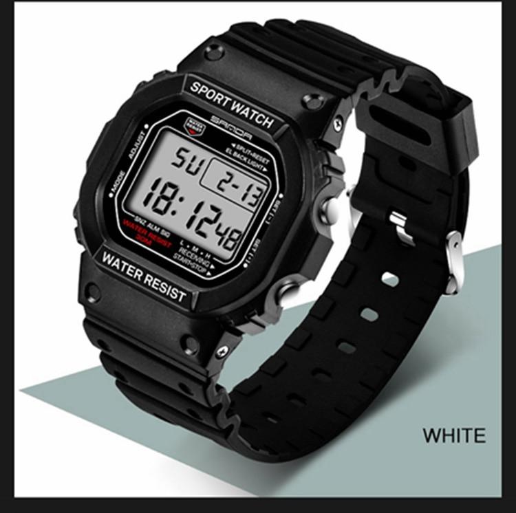Sanda Fashion Top Brand Professional Sports Watch Men Women Waterproof Military Watches Shock Men's Retro Analog Quartz Digital