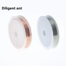 1-осевой провод из чистой меди, диаметр 0,2 0,3 0,4 0,5 0,6 0,7 0,8 мм, ручное подключение «сделай сам», медный провод
