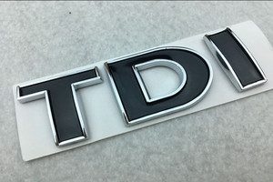 TDI 3D Badge Emblem Decal Auto Sticker Car styling for vw POLO Golf 7 Tiguan JETTA PASSAT b5 b6 MK4 MK5 MK6 MK7 car sticker