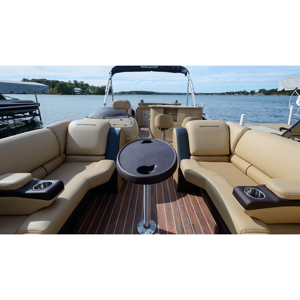 "Marine Boat RV Motor Home Redwood Table Leg & Base System 27"" TL5000-S-27"