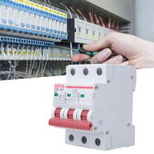 3P AC MCB  GYM8-C45 Miniature Circuit Breaker 400V 6A 10A  20A  3 Poles Bilateral Busbar Wiring Circuit Breaker new 30623 circuit breaker compact ns160n tmd 80 a 3 poles 2d