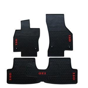 Резиновые автомобильные коврики для Volkswagen Golf 7,5 GTI GOLF полный комплект на заказ без запаха передние и задние ковры водонепроницаемые