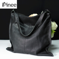 iPinee shoulder bag women designer handbag high quality female Hobo bag tote genuine leather Large crossbody bags ladies