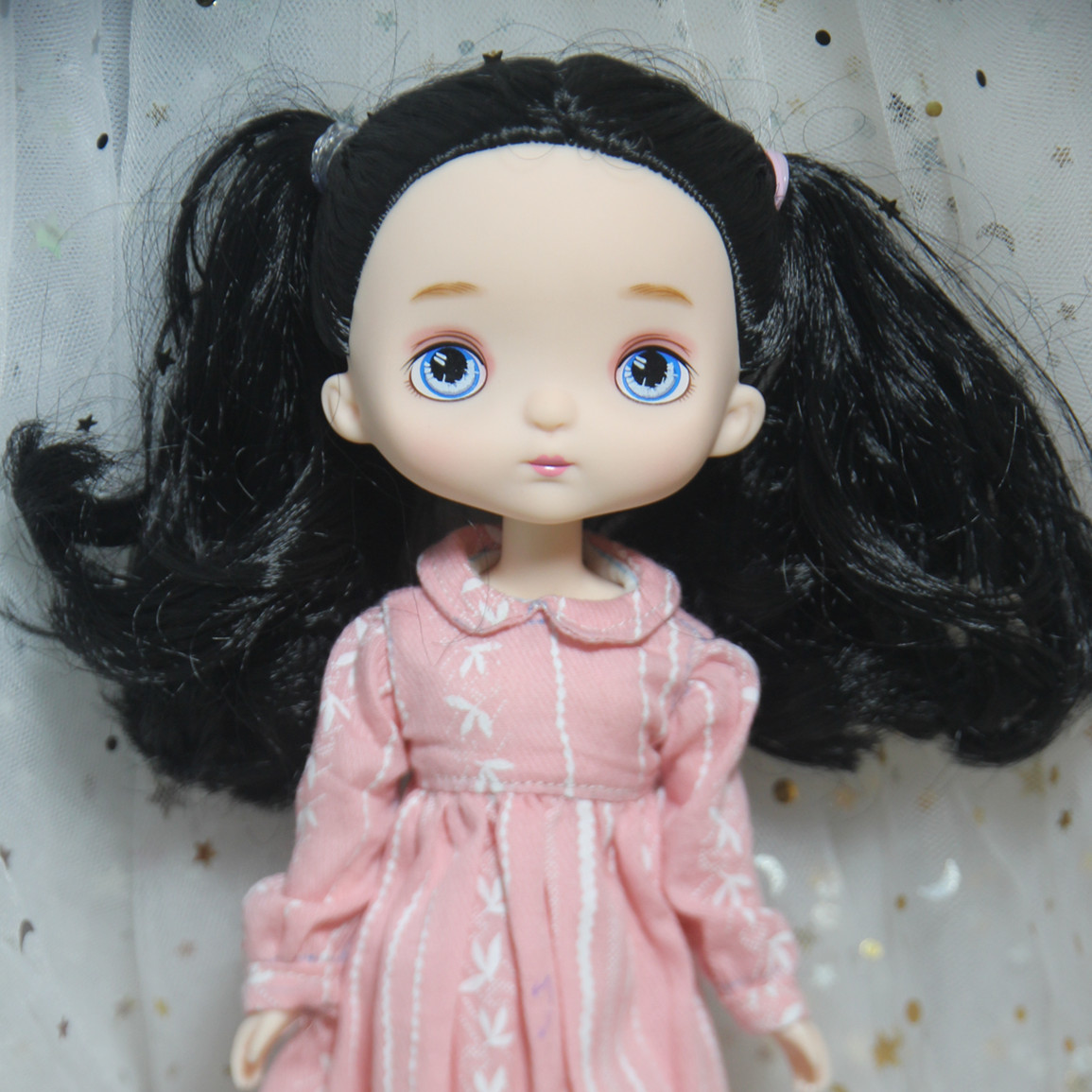 Cute Kawaii 13 Moveable Jointed Girl Doll Play House Toy <font><b>BJD</b></font> <font><b>1/8</b></font> Dolls Children Kids Birthday Gift Collection 17cm image