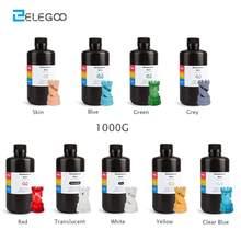 ELEGOO – résine d'imprimante 3D ABS-Like, produit de polymérisation photopolymère standard pour impression 3D, 1000ml gris, LCD UV 405nm