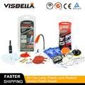 Visbella DIY Windschutzscheibe Reparatur Kit mit UV Licht Windschutz Glas Riss Kleber Klebstoff und Scheinwerfer Restaurierung Hand Werkzeug Sets-in Handwerkzeug-Sets aus Werkzeug bei