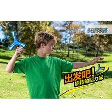 Children adults EVA boomerang three-leaf dart decompression toy boomerang outdoor toy anime