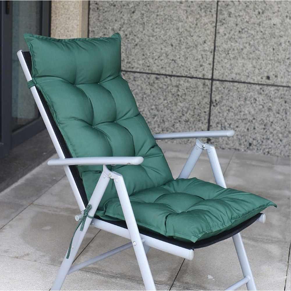 50x120cm recliner soft back cushion rocking chair pillow lounger bench longue mattress garden patio armchair chaise cushion mat