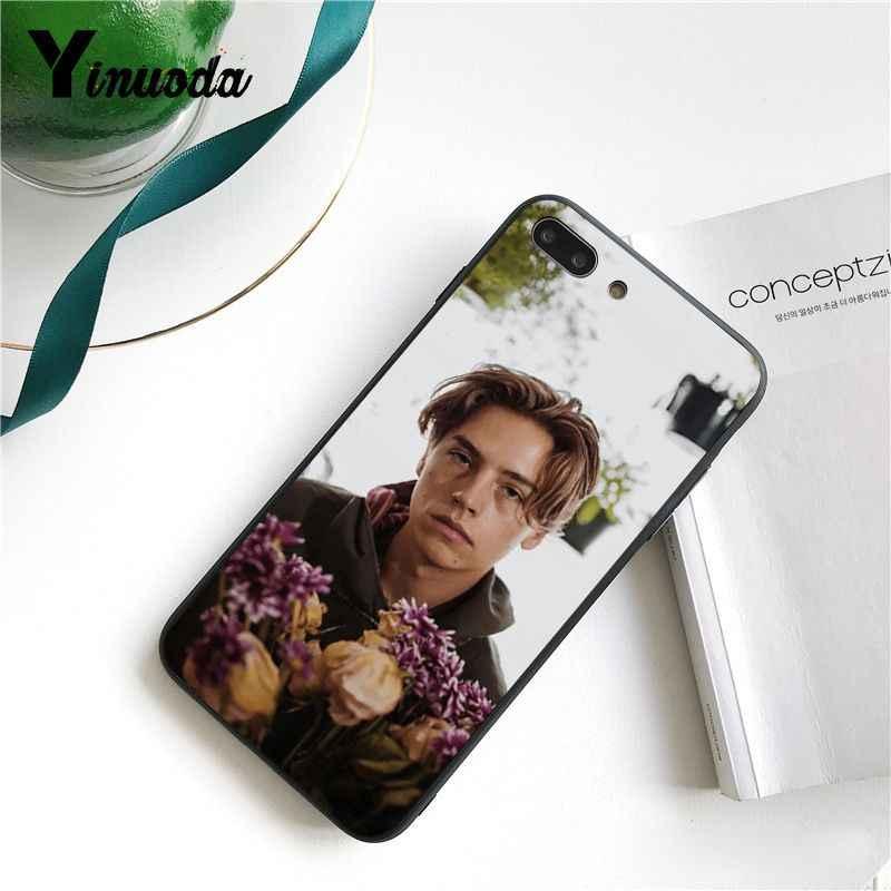 Yinuoda ривердейл Коул спрайз Jughead Jones клиент черный чехол для телефона iPhone 8 7 6S X XS MAX 5 5S SE XR 11 Pro Max