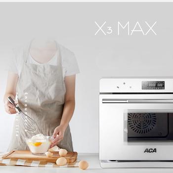 JRM0501 ACA piekarnik do gotowania na parze domowy pulpit parowy piekarnik elektryczny zintegrowany inteligentny wielofunkcyjny piekarnik 40L ATO-ES40A tanie i dobre opinie OLOEY CN (pochodzenie) NONE Elektryczne 220 v Pojedyncze 523*493*435mm 1100W 1600W 33kg White Home office commercial JRM0501 ACA Steaming Oven