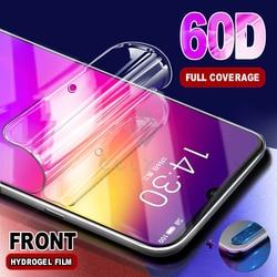 На Алиэкспресс купить стекло для смартфона 2-in-1 60d soft hydrogel film for redmi note 8t 8 7 5 4x k20 k30 pro premium camera glass for xiaomi mi 9 9t a3 lite protection
