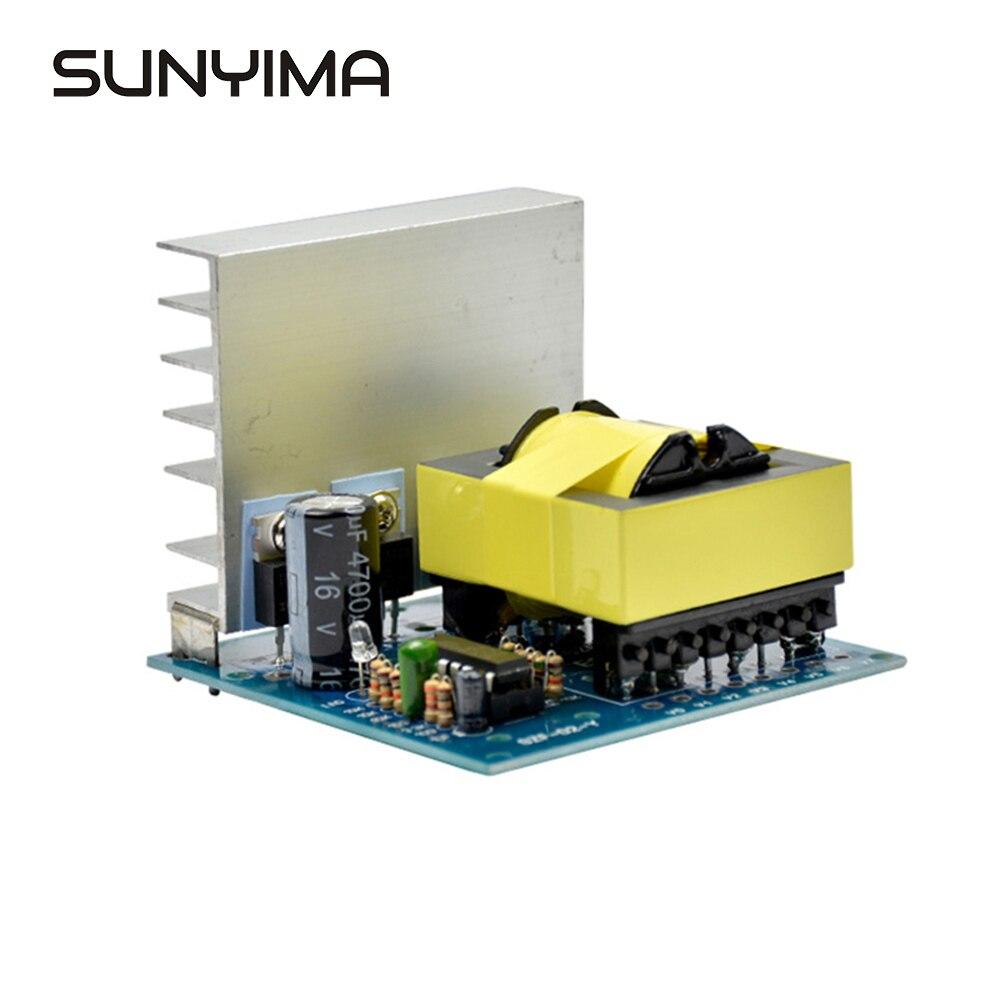 Sunyima DC-AC Convertitore 12V A 220V 380V 18V Ac 500W Inverter Board Pre Modulo Booster