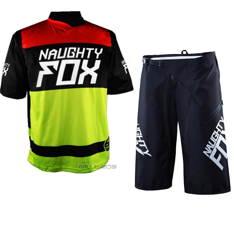 New Dirt Bike Jersey Sets Summer Men Motocross Gear Combo Bicycle Mountain Bike Off-road DH Cycling Suit Shorts & Jersey