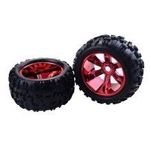 4PCS RC Car Wheel Rim Tire for Redcat Hsp Kyosho Hobao Hongnor Team Losi GM HPI 1/8 Truggy Monster Truck Rubber Tyre 17mm Hex 4pcs 1 8 rc car rubber tyres plastic wheels for redcat team losi vrx hpi kyosho hsp carson hobao 1 8 buggy on road car