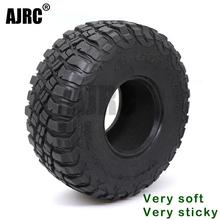 AJRC 2.2 بوصة 120 مللي متر المطاط لإطارات 1/10 روك المسار Redcat SCX10 II محوري 90046 90047 trx-4 RC4WD d90 d110 TF2 RC سيارة