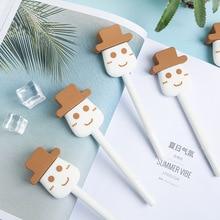 36pcs/set Ice Cream Gel Pen Popsicle Student Stationery Wholesale Icecream for Kids