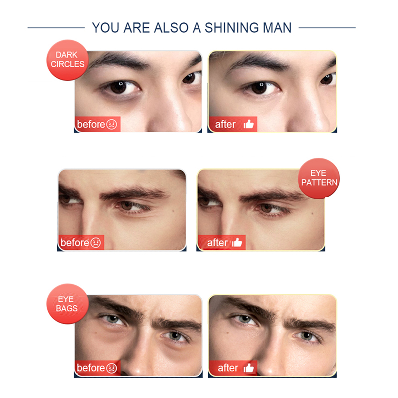 Men Day And Night Anti Wrinkle Firming Eye Cream Skin Care Anti