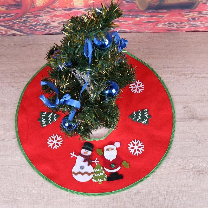 Christmas Tree Skirts Carpet Merry Christmas Decoration For Home Navidad Tree Skirts New Year Decoration