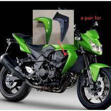 Right Left Panel Radiator Fairing Molded For Kawasaki Z750 Cover 2007 2008 2009 2010 2011 2012 Side Cover Good Injection
