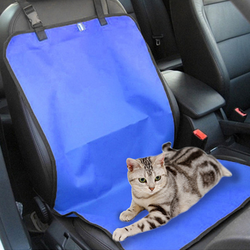 Water-proof Pet Carriers Car Seat Cover Dogs Cats Puppy Seat Mat Blanket Blanket Travel Accessories Auto Seat Covers Cushion Mat image