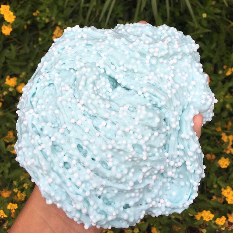 300 مللي كبير الكرة الوحل الطين إضافة القطن الغراء Charms ل سليمز سحابة الخرز الطين Diy بها بنفسك المعجون الطين الديكور لعبة ضغط المعجون عدة
