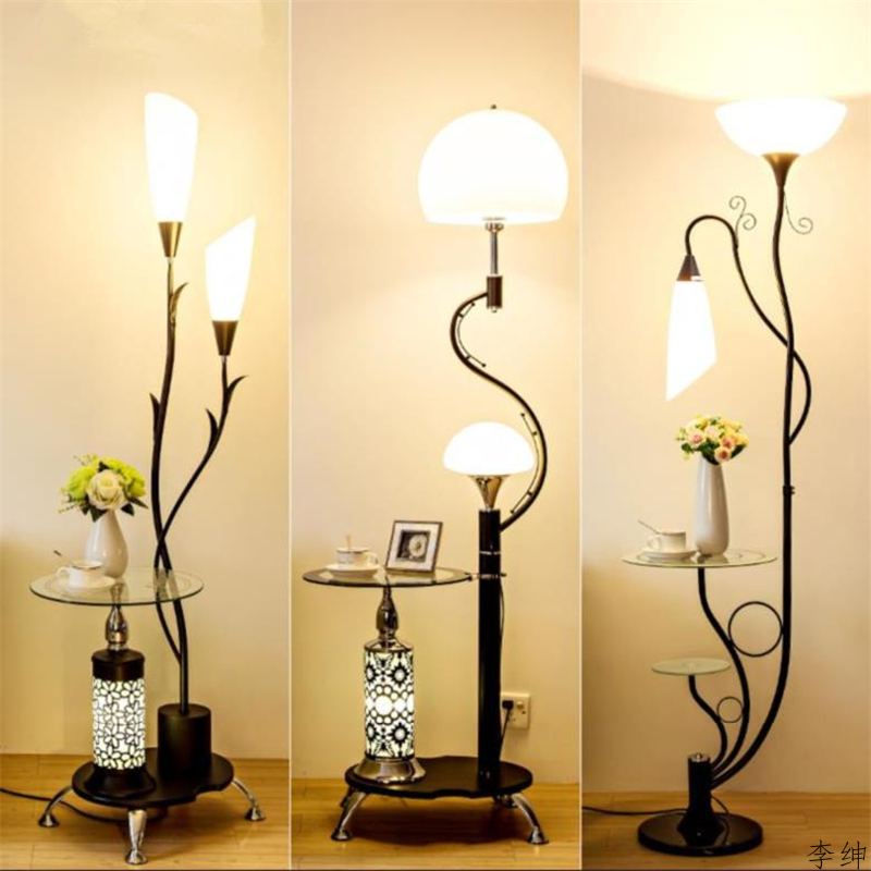 Nordic Desktop Floor Lamp Modern Bedroom Floor Light Living Room Standing Lamp Study LED Stand Light Industrial Decor Luminaire