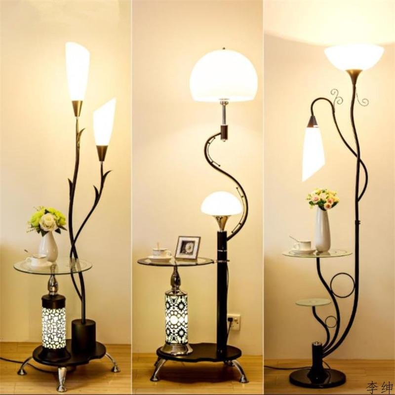 Nordic Desktop Floor Lamp Modern Bedroom Floor Light Living Room Standing Lamp Study LED Stand Light Industrial Decor Luminaire