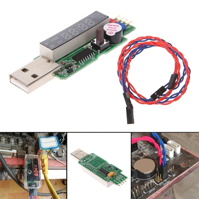USB Watchdog Card V9.0 Computer Blue Screen Halted Auto Restart Miner No Shell