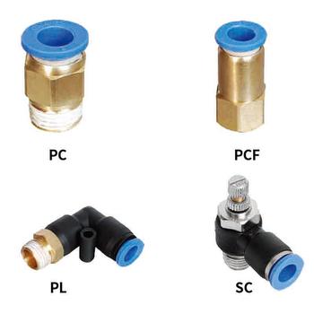 Pneumatic quick fitting  pipe connector  PC/SC/PCF/PL fitting thread 1/8 1/4 3/8 1/2 air Thread Female Straight Air Fitting 1pcs pneumatic quick connector pcf pc pl sl pb 4mm 12mm hose tube air fitting 1 4 1 8 3 8 1 2bspt male thread pipe coupler