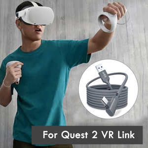 Image 5 - 5M קו נתונים עבור צוהר Quest 2 קישור אוזניות USB 3.0 סוג C נתונים טעינת כבל העברת סוג C כדי USB A כבל VR אבזרים