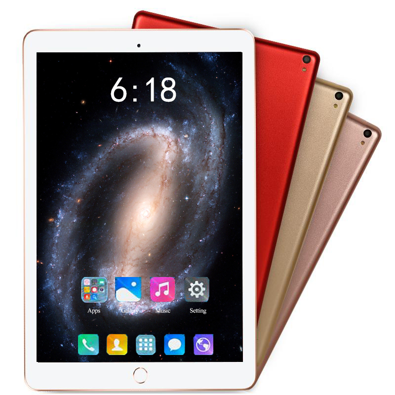 Super Tempered Glass 10 Inch Tablets Android 8.0 3G 4G LTE Tablet PC 1280*800 6GB RAM 128GB ROM Dual SIM IPS GPS Phone Tablets