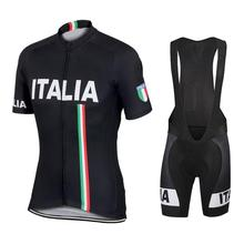 2019 Italy Mens Pro Cycling Jersey MTB Bicycle Clothing Team Short Shirt Bib Set Ropa Ciclismo Bike Wear Clothes Maillot Culotte недорго, оригинальная цена