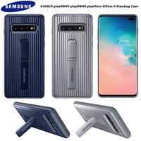 Samsung Galaxy S10 S9 S8 Plus Hinweis 8 9 Stehenden Fall Ultimative Volle Schutzhülle Für S10 + S9 + s8 + S 10 Harten Ständer Rüstung Abdeckung