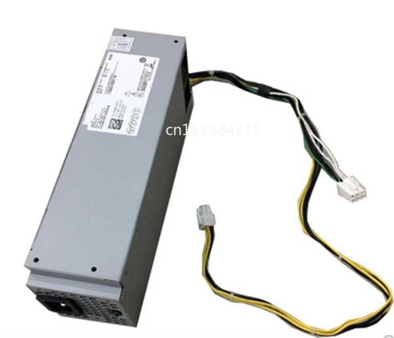 For Dell Vostro 3667 3668 3268 AC240ES-02 Desktop Small Power Supply 6 Pin + 4 Pin