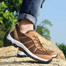 New Arrival Men Shoes Summer Breathable Hiking Shoe
