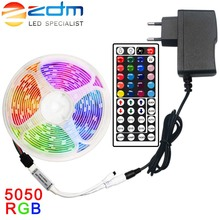 5M 10M 15M LED Strip Light RGB 5050 SMD 2835 Flexible Ribbon