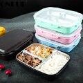 ONEUP Ланч-бокс из нержавеющей стали Портативный для пикника  офиса  школы  еды  контейнер с отделениями  Microwavable термальный Bento box