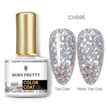 BORN PRETTY Nail Gel 120Colors 10ml Gel Nail Polish Soak Off UV LED Gel Varnish Holographics Shining Nagel Kunst Gellack 37
