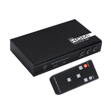 3 In 1 Out Video HDMI Audio Switch Switcher 1080P 60HZ 7.1CH 4Kx2K HD For PS3 PS4 HDTV DVD For Xbox360 apower link d 9310 1080p hd video audio switcher black 3 in 1 out