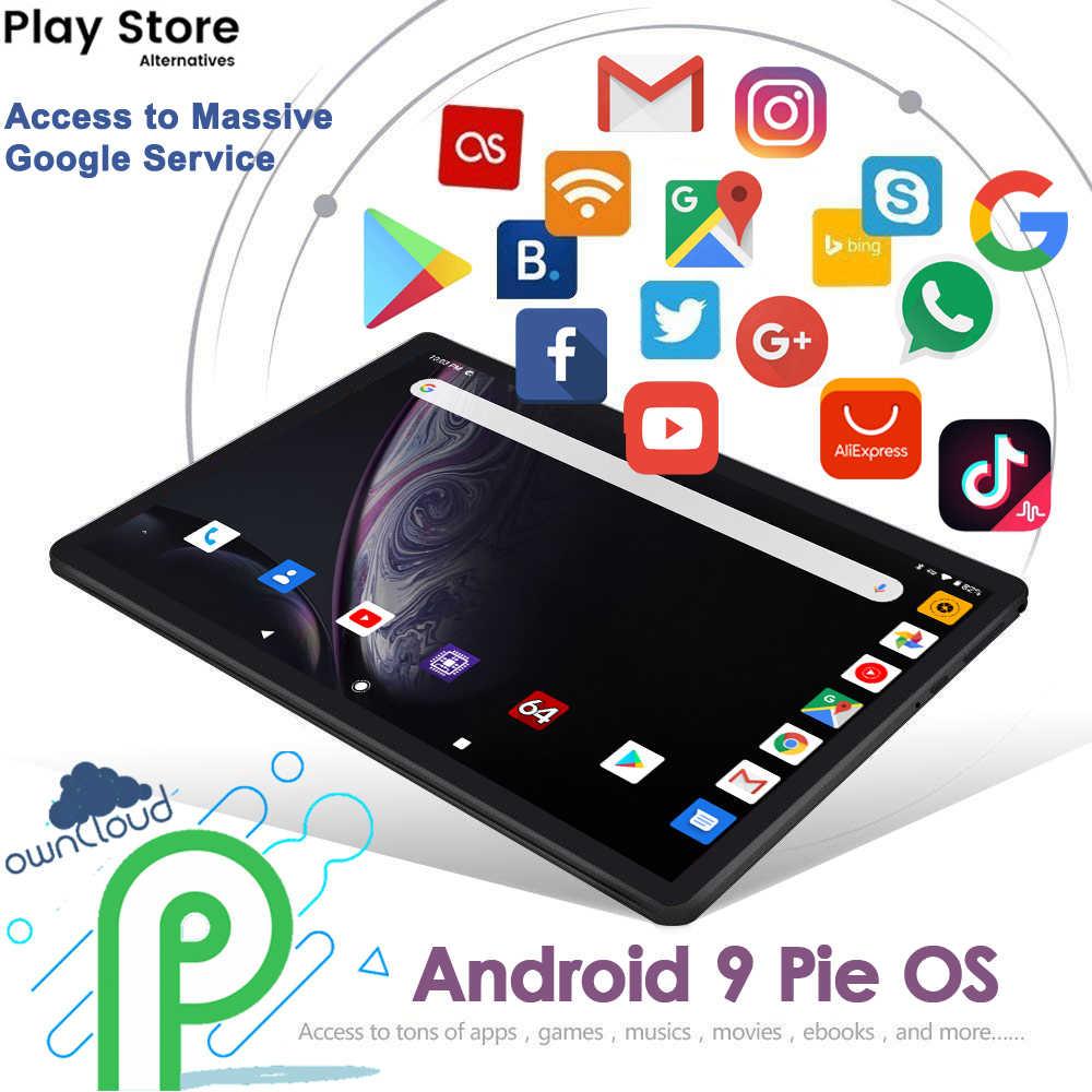 Perkbox M10 WiFi tableta Octa Core 10 pulg. 4GB RAM + 32GB ROM Android OS 9 1280x800 HD IPS pantalla 5.0MP Cámara 4G FDD LTE GPS