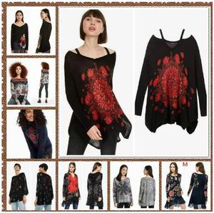 Printed embroidered sweaters from Deg, Spain 2020 XS-XL