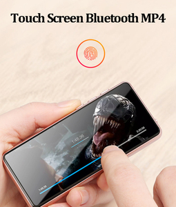 Image 5 - Bluetooth 5.0 MP3 Fashion 3.5 Inch Touch Screen Portable Music Player Sport MP3 Support Multi lingual Radio FM 128G TF Earphone
