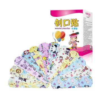 120 Sztuk Cartoon Band-aid śliczne Mini Dzieci Oddychająca Wodoodporna Bandaż Medyczne Ok Bandaże Hemostatyczne łatki Plastry Z Gazą