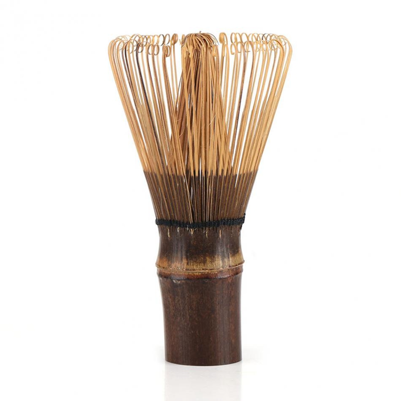Practical Boutique 80 Prongs Matcha Whisk Japanese Ceremony Bamboo Chasen Matcha Tea Powder Whisk Green Tea L