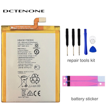 DCTENONE HB436178EBW Mobile Phone Replacement Li-Polymer Battery 2700mAh For HUAWEI Mate S CRR-CL00 CRR-UL00 Batterie Batterij