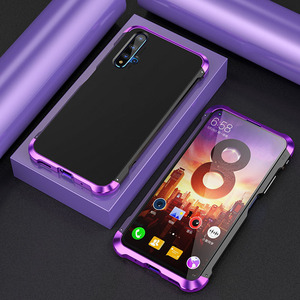 Image 2 - For Huawei P30 Pro P30 Case Hybrid Aluminum Metal Bumper Hard PC Shockproof Case for Huawei P40 P40 Pro P20 P30 Pro Cover