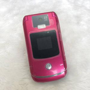 Motorola V3x RAZR V3x2mp 2G Refurbished Cellphone Unlocked Original 3G