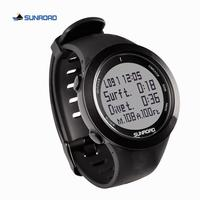 SUNROAD scuba diving digital sports watch computer safety depth 100M waterproof military compass altitude pedometer men women