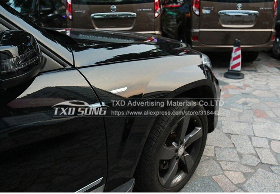 Лучшее качество, 3 слоя Плёнка для защиты при покраске для оклеивания авто с эффектом хромирования прозрачный авто vechice Защитная пленка Размер: 1,52* возможностью погружения на глубину до 30 м/рулон